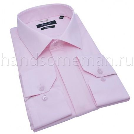 рубашка мужская светло-розовая Арт.№1437