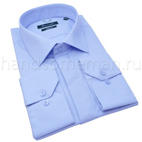 рубашка мужская голубая Арт.№1438