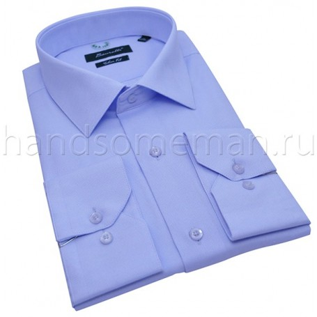 рубашка мужская голубая Арт.№1448