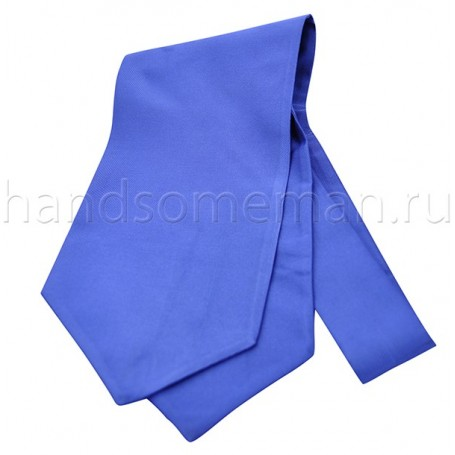 Галстук мужской синий классический Арт.№1467